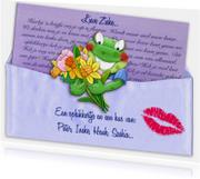 Beterschapskaarten - Opkikkertje met brief en diverse bloemen
