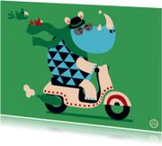 Kinderkaarten - Rijbewijs, Scooter - NK
