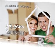 Verhuiskaarten - Samenwonen - eigen foto - OT