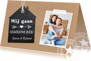 Verhuiskaarten - Samenwonen Kraftprint - LB