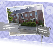 Verhuiskaarten - Samenwonenbord - BK
