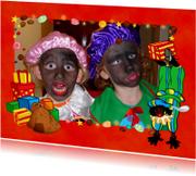 Sinterklaas feest fotokader