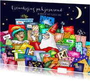 Sinterklaas - uitnodiging pakjes avond