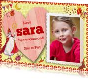 Sinterklaaskaarten - Sinterklaaskaart Eigen Foto Sint