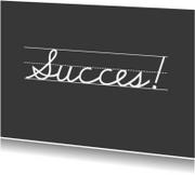 Succes kaarten - Succeskaart JippieJippie succes 004