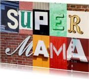 Supermama - letters