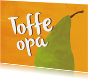 Opa & Omadag kaarten - Toffe opa - peer