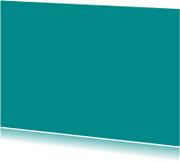 Blanco kaarten - Turquoise enkel liggend