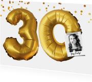 Uitnodigingen - Uitnodiging 30 jaar voor man of vrouw