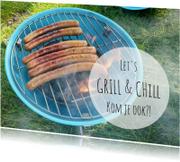 Uitnodigingen - Uitnodiging Grill & Chill