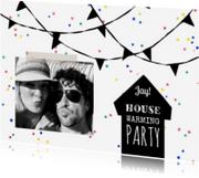 Uitnodigingen - Uitnodiging housewarming feest