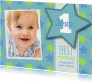 Kinderfeestjes - Uitnodiging jongen sterren