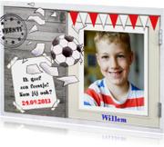 Kinderfeestjes - Uitnodiging kinderfeest voetbal