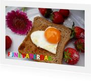 Vaderdag kaarten - Vaderdag Ontbijt