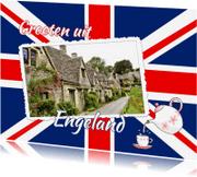 Vakantiekaarten - Vakantie - Britse vlag