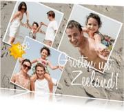 Vakantiekaarten - Vakantie Groeten uit... - BK