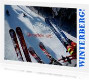 Vakantiekaarten - Vakantie Groeten - Wintersport