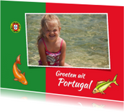 Vakantie - Portugeese vlag
