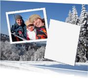 Vakantiekaarten - vakantie Wintersport eigen foto
