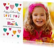 Valentijnskaarten - Valentijnskaart Hartje kleurrijk
