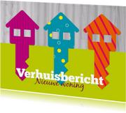 Verhuiskaarten - Verhuiskaart blije sleutels - SZ
