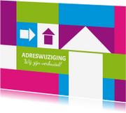 Verhuiskaarten - Verhuiskaart blokken - SZ