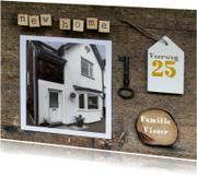 Verhuiskaarten - Verhuiskaart collage new home