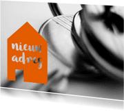 Verhuiskaarten - verhuizing huis en sleutel