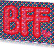 Vriendschap kaarten - Vriendschapskaart BFF PA