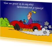 Geslaagd kaarten - Weer een gevaar op de weg erbij