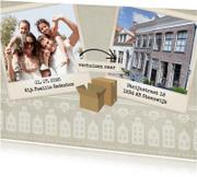 Verhuiskaarten - Wij verhuizen naar - BK
