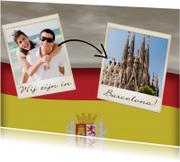 Vakantiekaarten - Wij zijn in Spanje! - BK