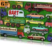 Verjaardagskaarten - YVON auto jongenskaart mannenkaart