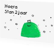Kinderkaarten - Zoete monster