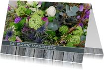 Bloemenkaarten - 14190 Dat verdient een bloemetje