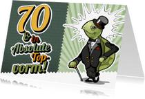 Verjaardagskaarten - 70 jaar en in absolute topvorm