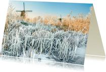 Ansichtkaarten - Ansichtkaart-Winterlandschap