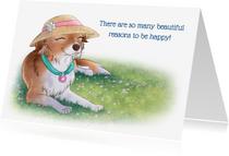 Spreukenkaarten - Be happy! - Chiwowy