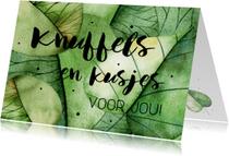 Bedankkaartjes - Bedankkaartje: Knuffels en kusjes voor jou!