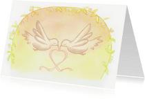 Felicitatiekaarten - Birds love