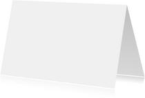 Blanco kaarten - Blanco kaart liggend