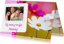 Bloemenkaart Moederdag - BK