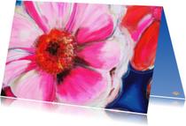 Kunstkaarten - Bloemkaart Bloemhart PA