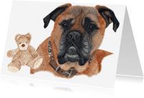 Dierenkaarten - Bullmastiff