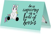 Coachingskaarten - Coaching be a unicorn-ST