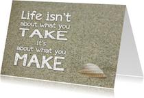 Coachingskaarten - Coachingskaart life is about