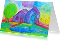 Kunstkaarten - Coming Home