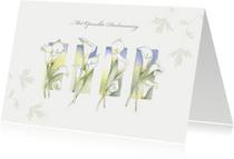 Condoleancekaarten - Condoleance bloemen