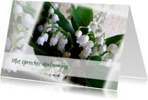 Condoleancekaarten - condoleance Lelietje van Dalen