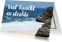Condoleancekaarten - Condoleance oceaan